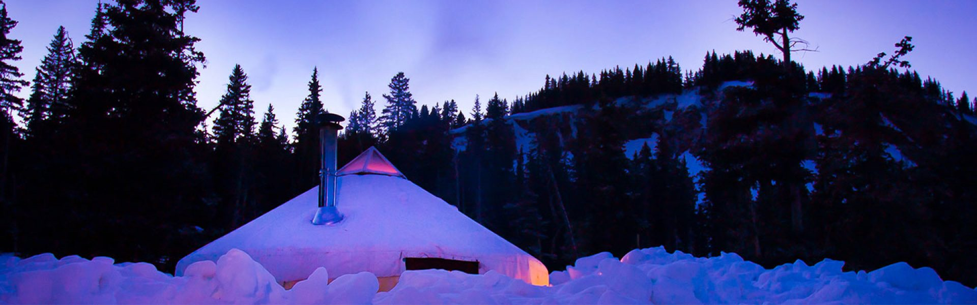 Backcountry Yurts in Taos New Mexico and Southern Colorado